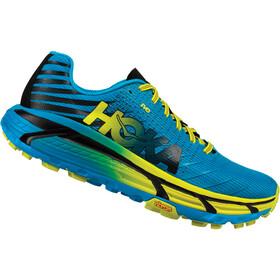 Hoka One One M's Evo Mafate Running Shoes cyan/citrus